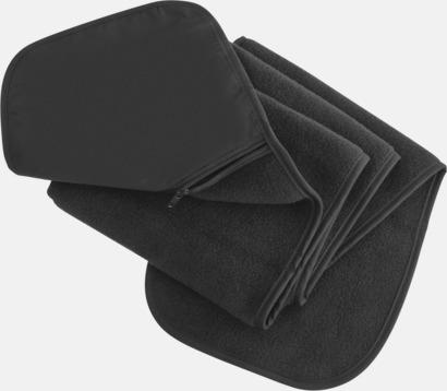 Grå Halsduk med praktisk ficka - med reklamtryck