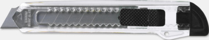 Svart Billiga brytbladskniv med reklamtryck