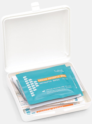 Vit First Aid Case - Med tryck