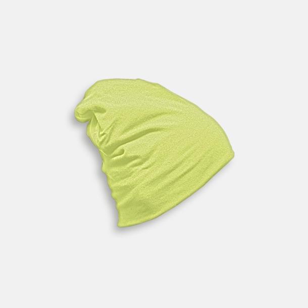 Soft Green Skräddarsydda bomullsmössor med fleecefoder