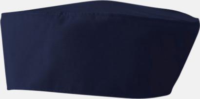 Navy Kockmössor i många färger med reklamtryck