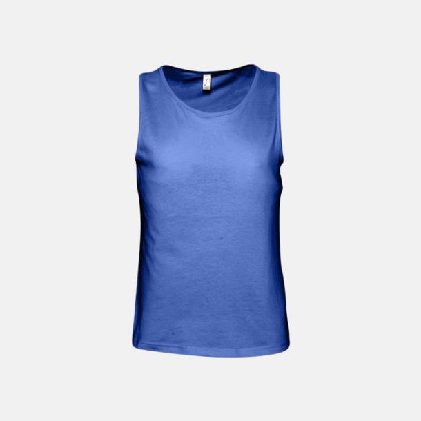 Royal Blue (herr) Billiga linnen med tryck av egen logo