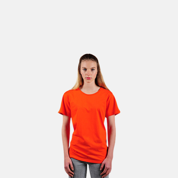 Flame Coral (2) Eko t-shirts i Fairtrade-bomull med reklamtryck