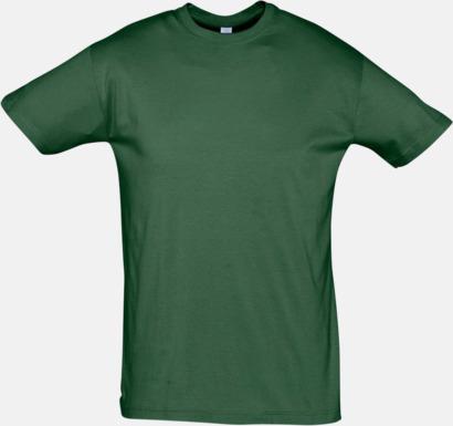 Bottle Green Billiga herr t-shirts i rmånga färger med reklamtryck
