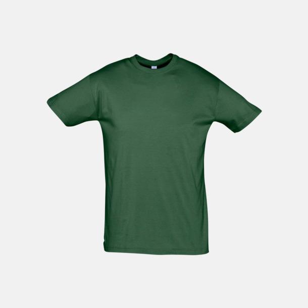 Bottle Green Billiga unisex t-shirts i många färger med reklamtryck
