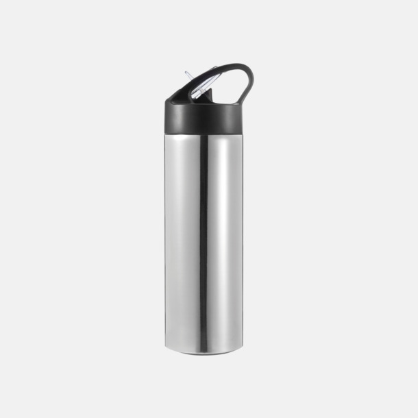 Silver Vattenflaskor av stål med eget tryck