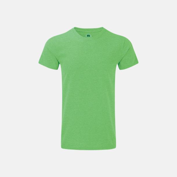 Green Marl (herr) Färgstarka t-shirts i herr- och dammodell med reklamtryck
