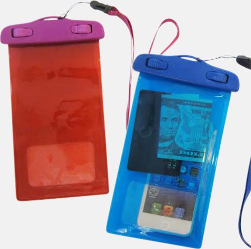 Skyddande mobilficka med eget tryck