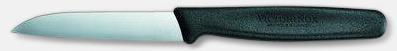 Svart (8 cm) Professionella skalknivar