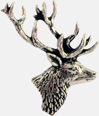 Hjort Engelska, handgjorda broscher med jaktmotiv