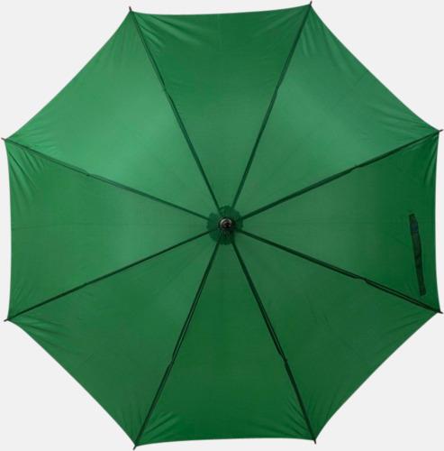 Grön Marknadens billigaste reklamparaply