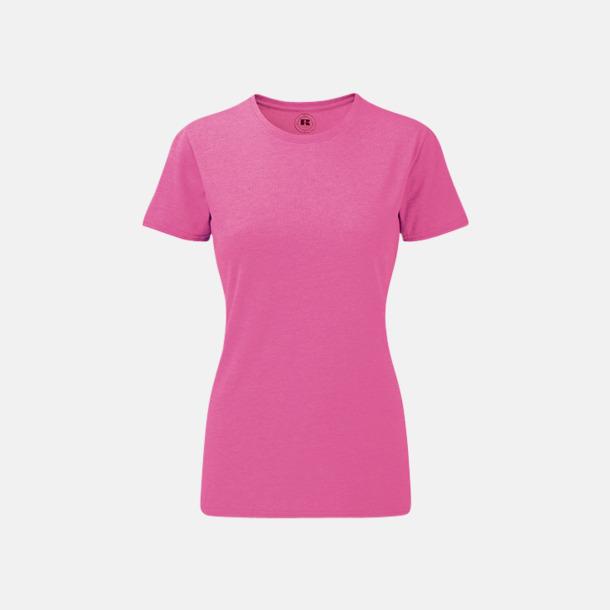 Pink Marl (dam) Färgstarka t-shirts i herr- och dammodell med reklamtryck