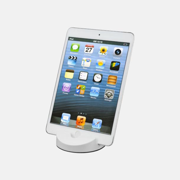 Mediaställ för mobilen eller surplattan - med reklamtryck