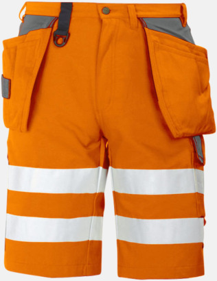 Orange (fram) Herrarbetsshorts Klass 2