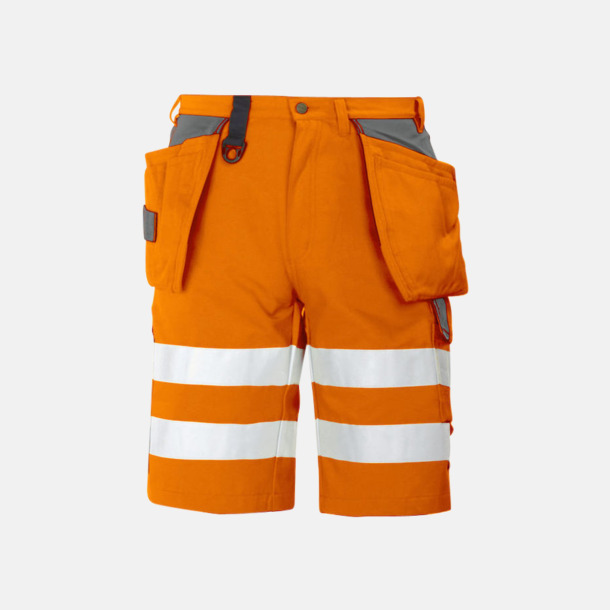 Orange Herrarbetsshorts Klass 2