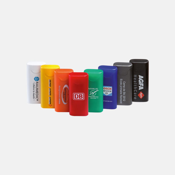 Färgglada plåsteraskar med tryck