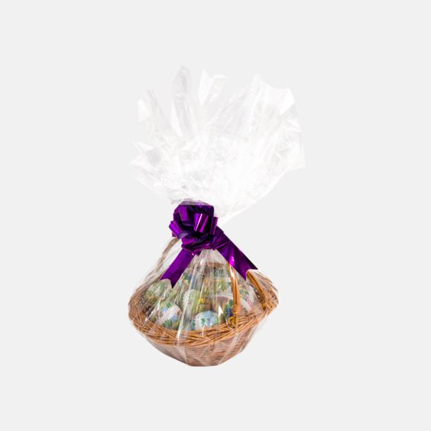 Korg med 15 st påskägg med personlig hälsning