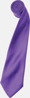 Rich Violet Slipsar i supermånga färger