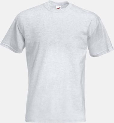 Ash (Heather) Kraftig t-shirt med reklamtryck