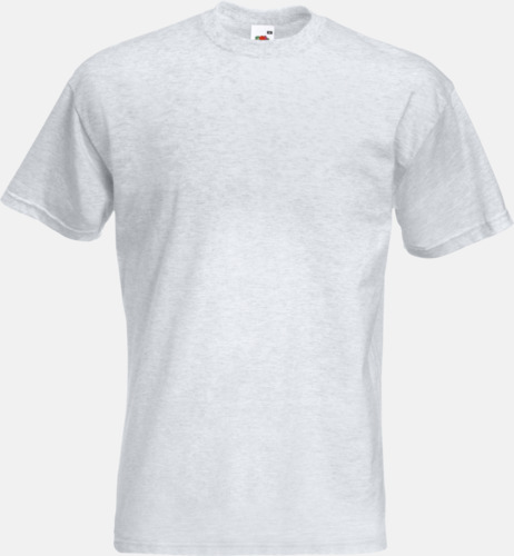 Ash (Heather) Kraftig t-shirt med reklamtryck