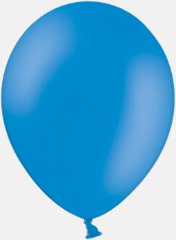 Mid Blue 012 (PMS 2925) Ballonger med tryck