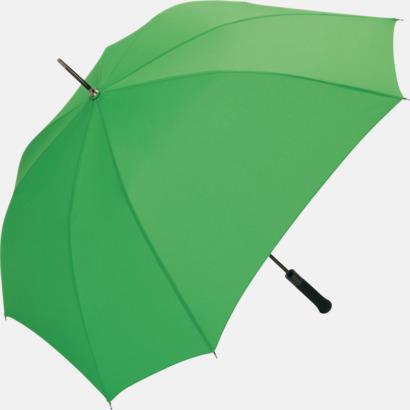 Ljusgrön Paraplyer med tryck