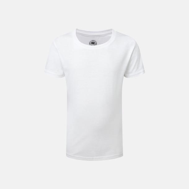 Vit (flicka) Sublimerings t-shirts i barn- & ungdomsmodell
