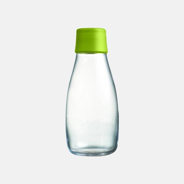Forest Green Mindre vattenflaskor av glas med reklamtryck