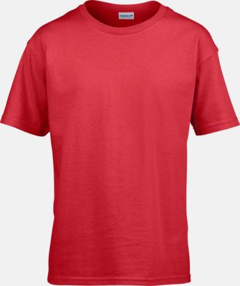 Röd Billiga t-shirts med reklamtryck