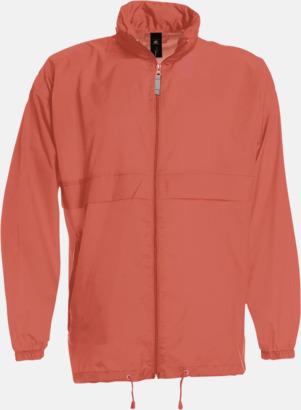 Pixel Coral (unisex) Vind- och vattentäta jackor för dam, herr och barn - med tryck