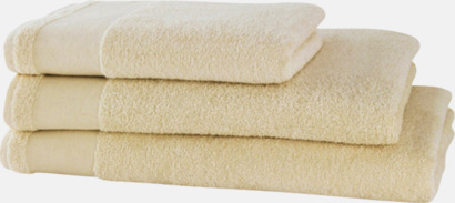 Miljövänliga handdukar med eget tryck