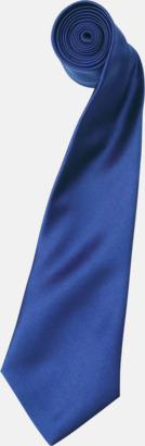 Marine Blue Slipsar i supermånga färger
