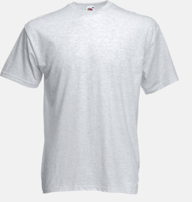 Ash (Heather) Valueweight t-shirt med tryck