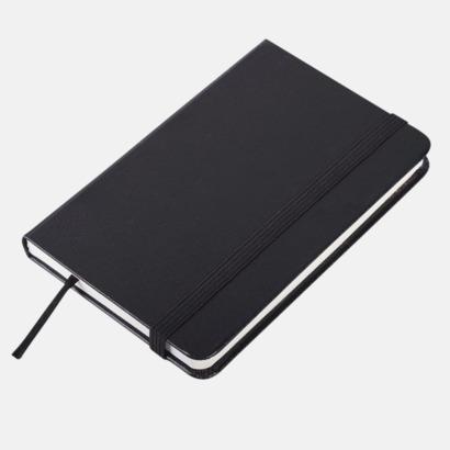 Svart anteckningsbok i konstläder i A6 format