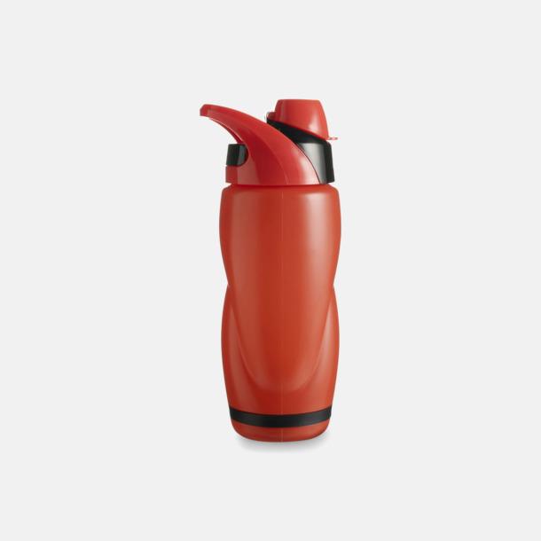 Röd / Svart Vatten och sportflaska med tryck