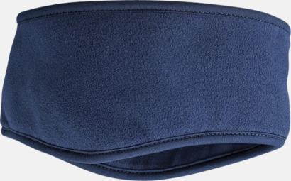 Marinblå Vinterpannband med eget tryck