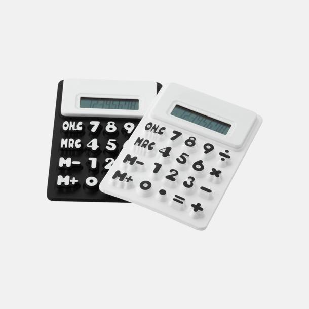 Mjuka miniräknare med reklamtryck