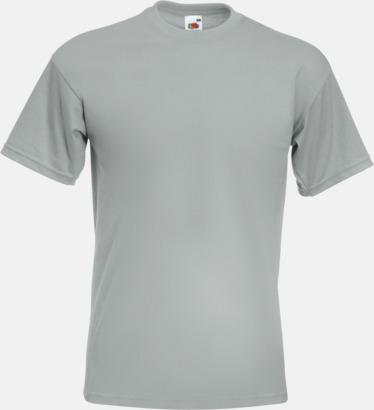 Zinc (solid) Kraftig t-shirt med reklamtryck
