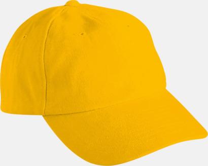 Gold Yellow Klassisk keps med egen brodyr