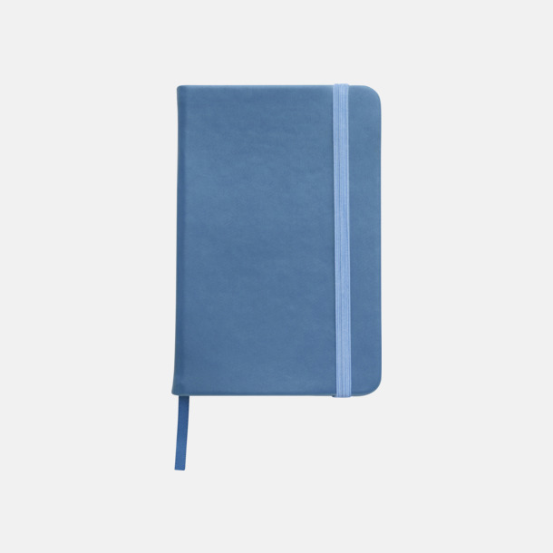 Ljusblå Färgglada anteckningsböcker med tryck
