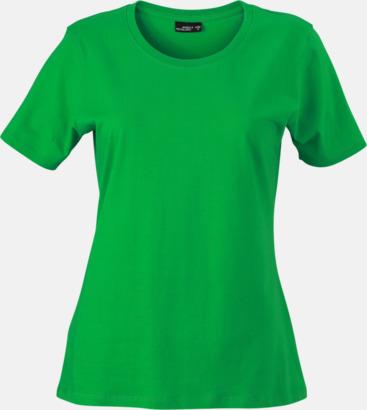 Fern Green T-shirtar av kvalitetsbomull med eget tryck