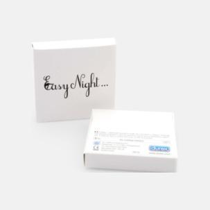 Billiga reklamkondomer i 3-pack med logotryck