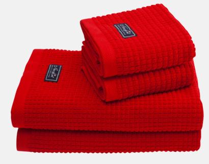 Röd Frottéhanddukar från Newport