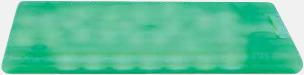 Grön (transparent) Askkort med sockerfritt mintgodis - med reklamtryck