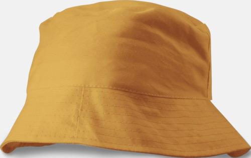 Orange Solhattar i många färger med reklamtryck cf1d949464839