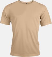 Sport t-shirts i många färger för herrar - med reklamtryck
