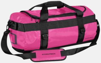 Wildberry/Svart 35 liters-väskor med reklamtryck