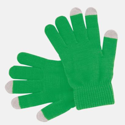 Grön Vantar för touchscreens