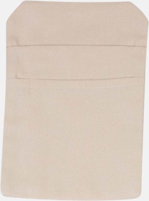 Sand Förklädesfodral med reklamtryck