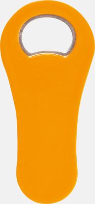 Orange Kapsylöppnare med magnet - med reklamtryck